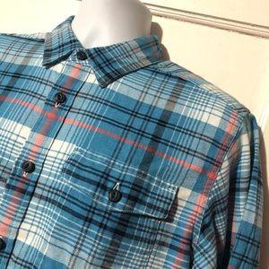 Patagonia Plaid Long Sleeve Button Down Shirt